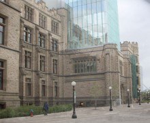 Building Victoria Museum - Apr 1899-blend