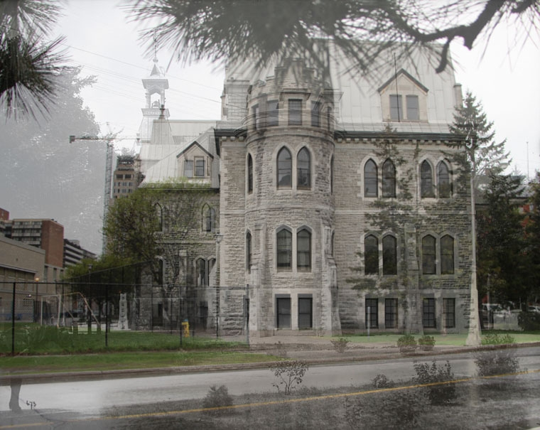 Collegiate Institute Lisgar Street-blend