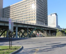 Laurier Bridge over Rideau Canal-2