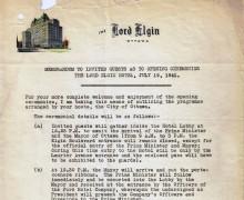 MemoToInvitedGuestsAsToOpeningCeremoniesOnJuly19-1941-1
