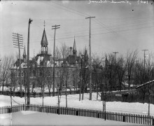 Normal School corner Elgin and Lisgar Sts Feb 1893