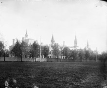Normal School (corner of Elgin and Lisgar Streets) July 1893