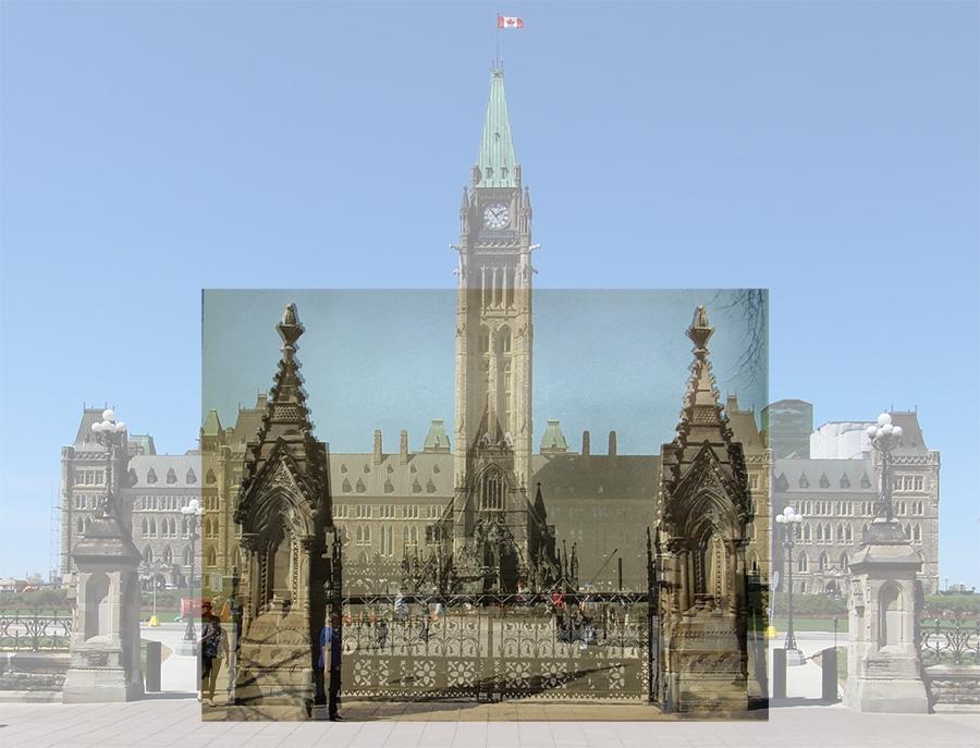 ParliamentHillFrontGate-1916-b-blend