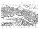 Birds Eye View - City of Ottawa - 1876