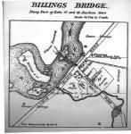 COA map of Billings Bridge -  CA-001357