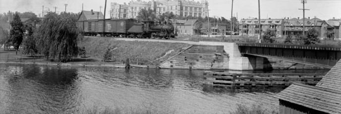 GTR Swing Bridge - Topley - 1911-1