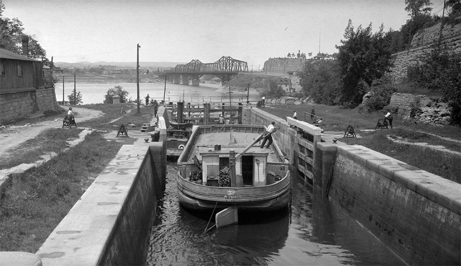 Canal Locks At The Ottawa River 1920 Amp 2013 Ottawahh